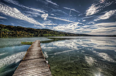 Photograph - Lac Saint-point by Philippe Saire - Photography