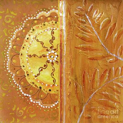 Painting - Lace And Leaves by Desiree Paquette