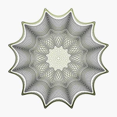 Lace On White Art Print