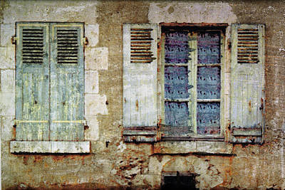 Mixed Media - Lace Window by Bob Senesac