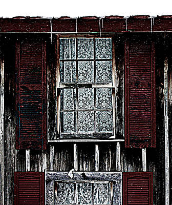 Photograph - Laced Window by Susie Weaver
