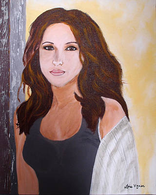 Actrice Painting - Lacey Chabert by Lois Viguier