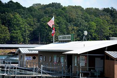 Greers Ferry Lake Photograph - Lacey's Narrows Marina 1 by Tamra Lockard