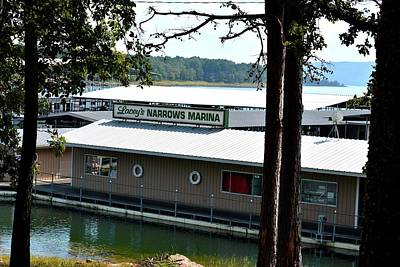 Greers Ferry Lake Photograph - Lacey's Narrows Marina 2 by Tamra Lockard