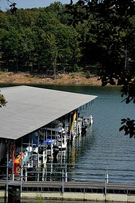 Greers Ferry Lake Photograph - Lacey's Narrows Marina 4 by Tamra Lockard