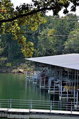 Greers Ferry Lake Photograph - Lacey's Narrows Marina 5 by Tamra Lockard