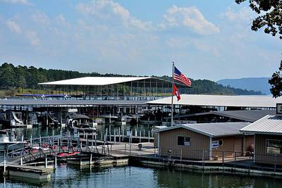 Greers Ferry Lake Photograph - Lacey's Narrows Marina 7 by Tamra Lockard