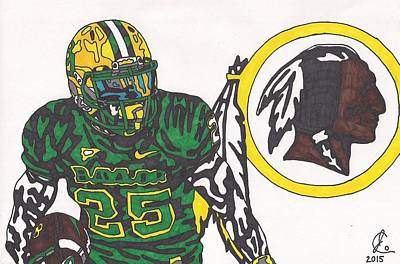 Drawing - Lache Seastrunk  by Jeremiah Colley