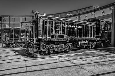 Photograph - Lackawanna D.l. And W. Train by Susan Candelario