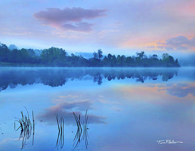 Photograph - Lackawanna Lake  by Tim Fitzharris