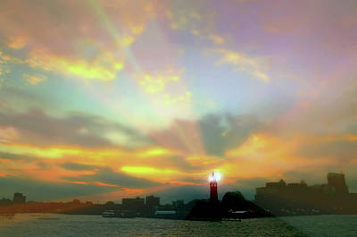 Photograph - Lackawanna Transit Sunset by Diana Angstadt