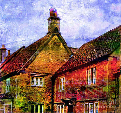 Photograph - Lacock Village, Wiltshire by Judi Bagwell