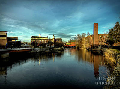 Photograph - Laconia Mills by Mim White