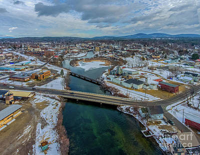 Photograph - Laconia, New Hampshire by Mim White