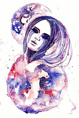 Tears Drawing - Lacrima Nebula  by Alexandra-Emily Kokova