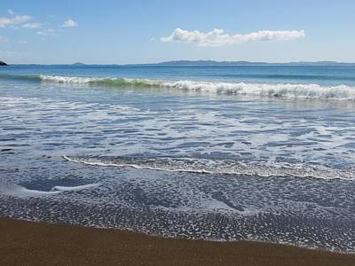 Photograph - Lacy Foam At Taipa Beach by Dianne Connolly