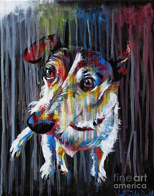 Painting - Lacy In The Rain by Veronica McDonald