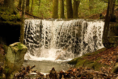 Photograph - Lacy Waterfall by Douglas Barnett