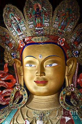 Photograph - Ladakh Buddha by Derek Selander