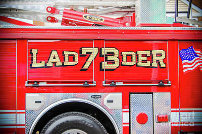 Photograph - Ladder 73 by Colleen Kammerer