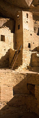 Kiva Photograph - Ladder At House, Cliff Palace, Mesa by Panoramic Images