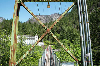 Photograph - Ladder Creek Bridge by Tom Cochran