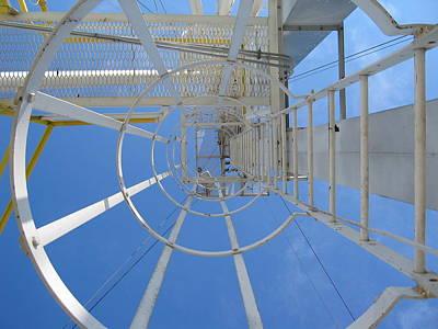 Photograph - Ladder by Dylan Punke