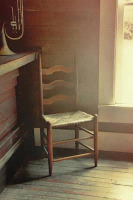 Ladderback Chair Photograph - Ladderback by JAMART Photography