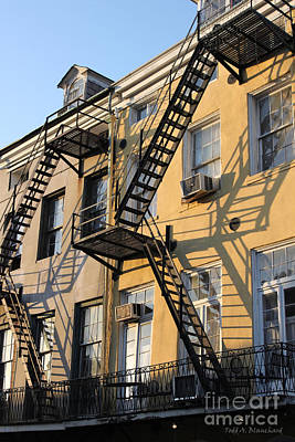 Photograph - Ladders by Todd Blanchard
