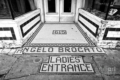 Photograph - Ladies Entrance In New Orleans by John Rizzuto