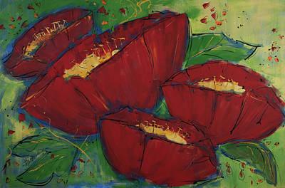 Painting - Ladies In Red by Terri Einer