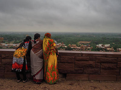 Photograph - Ladies Of Jodhpur by Mark Perelmuter