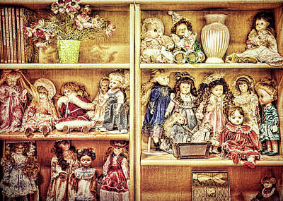 Photograph - Ladies Of The Bookcase by Lewis Mann