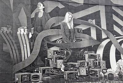 Photograph - Ladies On The Wall by Alice Gipson