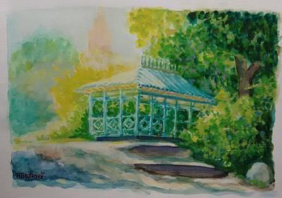 Painting - Ladies Pavilion, Cpnyc by Nicolas Bouteneff