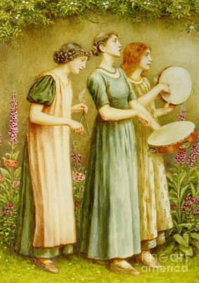 Painting - Ladies Vintage by R Muirhead Art