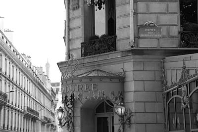 Photograph - Laduree 2 by Andrew Fare