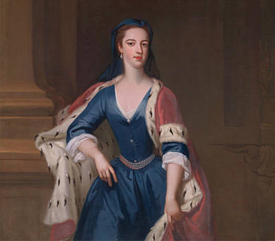 Painting - Lady Anne Cavendish by Jonathan Richardson the Elder