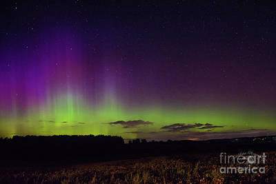Photograph - Lady Aurora Comes Out To Dance by FotoSchut Photography