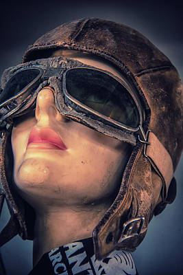 Photograph - Lady Aviator by Pamela Williams