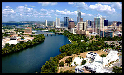 Photograph - Lady Bird Lake Austin Texas by James Granberry