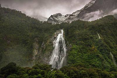 Photograph - Lady Bowen Falls by Racheal Christian