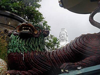 Photograph - Lady Buddha 10 by Ron Kandt