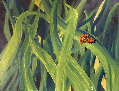 Lady Bugs Art Print
