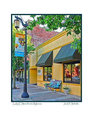 Lady C Storefront-sylvania Art Print
