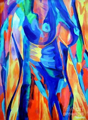 Painting - Lady Challenge by Helena Wierzbicki