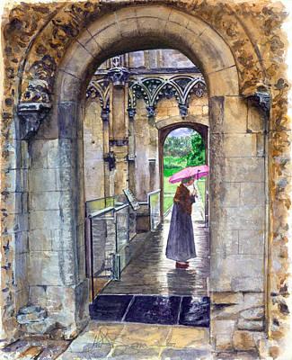 Painting - Lady Chapel by John D Benson