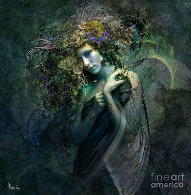 Digital Art - Lady Chrissa  by Ali Oppy