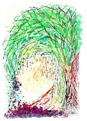 Painting - Lady by Corinne Carroll