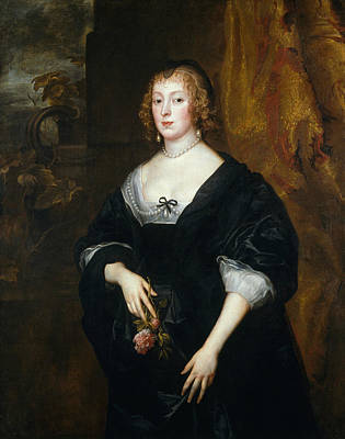 Painting - Lady Dacre by Anthony van Dyck
